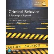 Criminal Behavior: A Psychological Approach by Curt R. Bartol
