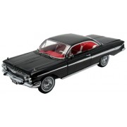 1961 Chevrolet Impala Ss 409 Sport Coupe Black 1/18 By Sunstar 2101