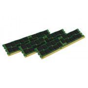 Kingston KVR16R11S4K3/24I Memoria RAM da 24 GB, 1600 MHz, DDR3, ECC Reg CL11 DIMM Kit (3x8 GB), 240-pin, Certificata Intel