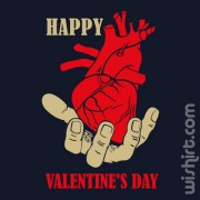 T-shirt Happy Valentine's Day