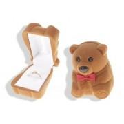 Medvés ékszertartó doboz