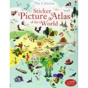 Sticker Picture Atlas of the World(Sam Lake)