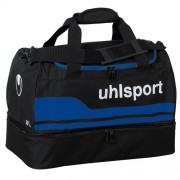 uhlsport Sporttasche BASIC LINE 2.0 - mit Bodenfach - schwarz/royal |