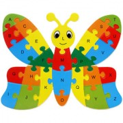 Imported Alphabet Puzzle Educational Toys -Butterfly