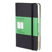 Moleskine Carnet (infos) de voyage Format de poche Couverture rigide noire 9 x 14 cm