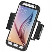 Para Samsung Galaxy S7 Edge Braçadeira Capinha Braçadeira Capinha Cor Única Rígida PC Samsung S7 edge / S7