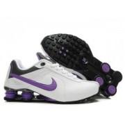 Tenis Nike Shox Deliver Branco/Roxo