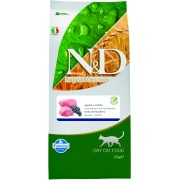 N&D Grain Free Cat Adult Lamb Blueberry 10 kg + nákupní taška zdarma