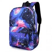 Vbiger School Backpacks Laptop Backpack 14 Inch Waterproof for Kids (Galaxy Blue)