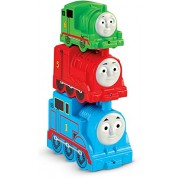Mattel Fisher-Price cdn14 - Empilable amusant Locomotive à vapeur
