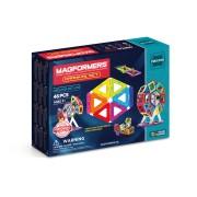 Joc de constructie magnetic MAGFORMERS - Creator - Carnaval (46 piese)