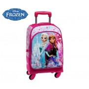 4592851 Trolley convertibile in zaino Frozen Elsa ed Anna 44 x 33 x 21 cm