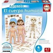 Educa Borras - Imparo... Il corpo umano, Gioco educativo [Lingua spagnola]