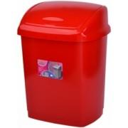 Cos gunoi 9 litri 33x19x25 cm rosu