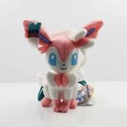 "Pikachu Pink Sylveon Nymphia Eevee Evolution Pokemon 8"" Anime Animal Stuffed Plush Plushies Doll Toys"