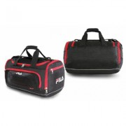 Fila Cypress Small Sport Duffel Bag Black/Red