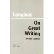 On Great Writing (On the Sublime) by Longinus