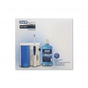Pachet promotional dus bucal Oral-B OxyJet MD20 + Apa de gura Oral-B Clinic Line