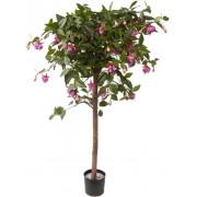 Kunst Fuchsia plant op stam 90 cm