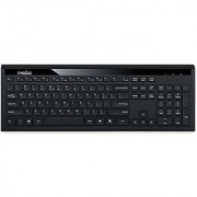 Perixx PERIBOARD-211US Ultrathin Design Keyboard - Wired USB with 1 Extra Hub - 17.56 x6.27 x0.77 Full Size Dimension - Silent X Type Chiclet Keys - US English Layout