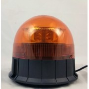Girofar 8x LED Galben (amber) cu prindere magnetica si ventuza