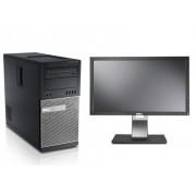 "Sistem DELL OPTIPLEX 390, Monitor LCD 19"" Dell P2210T"