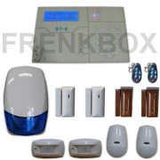 Allarme GSM antifurto Defender ST-6 Sensori magnetici, 2 Pir, 2 Tendina, Sirena