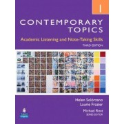 Contemporary Topics 1 Student Book with Streaming Video Access Code Card by Helen S Solorzano