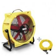 Ventilator TTV 4500 HP + cablu profesional de prelungire 20 m / 230 V / 2,5 mm²