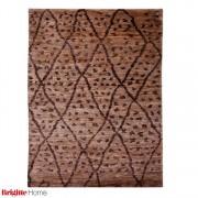 Tapijt Global Passion - handgeknoopt - beige/bruin - 170x240cm, Brigitte Home