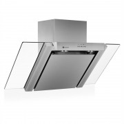 Klarstein RGL90WS campana extractora campana cocina decorativa 90 cm acero inox
