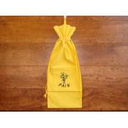 Bolsa de Pan bordada - Modelo OLIVAS - Amarillo