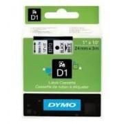 Dymo D1 Label Cassette 24mmx7m (SD53713) - Black on White