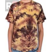 Koszulka barwiona jasno brązowa Running Bear