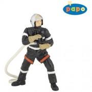 Fireman with Hose