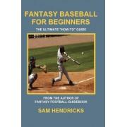 Fantasy Baseball for Beginners by Sam Hendricks