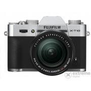 Aparat foto Fujifilm FinePix X-T10 (18-55mm), argintiu