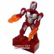 Mega Bloks 91248 - Marvel Serie 2 Minifigure and Armas/accessories - IRON ...