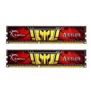 G.Skill 16GB DDR3-1333, F3-1333C9D-16GISL Kit memoria RAM