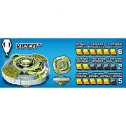 Mega Bloks Battle Strikers Turbo Tops Viper Reload Striker Metal XS
