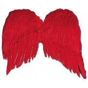 Ali da angelo ROSSE in piuma (adulto) - Cosplay