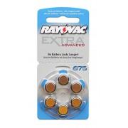 Baterii auditive zinc-aer Rayovac Extra Advanced 675