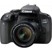 Canon eos 800d + 18-55mm f/4-5.6 is stm - 2 anni di garanzia