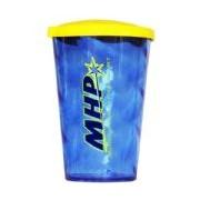 Copo com tampa - 600ml Azul - MHP