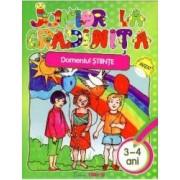 Junior La Gradinita 3-4 Ani Domeniul Stiinte