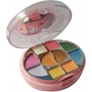 NYN NYN-NZKPN-10Eyeshadow-1Blusher-1Compact-4Lipcolor(Pack of 1)