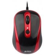 Mouse A4Tech Wired V-Track N-250X-2 (Negru-Rosu)