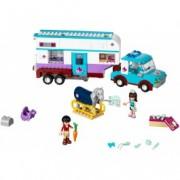 LEGO® Friends Rulotă veterinară pentru cai 41125