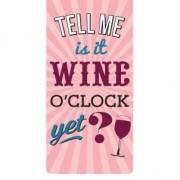magnetische boekenlegger - is it wine o'clock yet