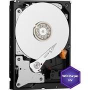 HDD Western Digital Purple NV, 6TB, SATA III 600, 64MB Buffer - dedicat sistemelor de supraveghere + Cablu S-ATA III 4World 08529, 457 mm